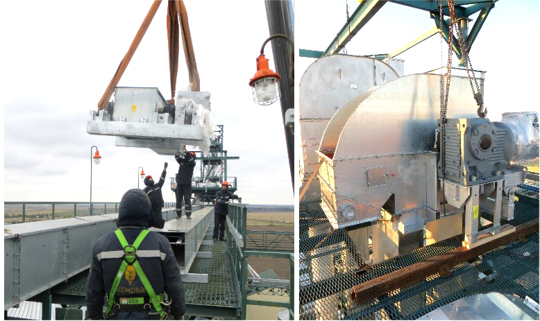 Реализация проекта 3 пускового комплекса завода Allseeds